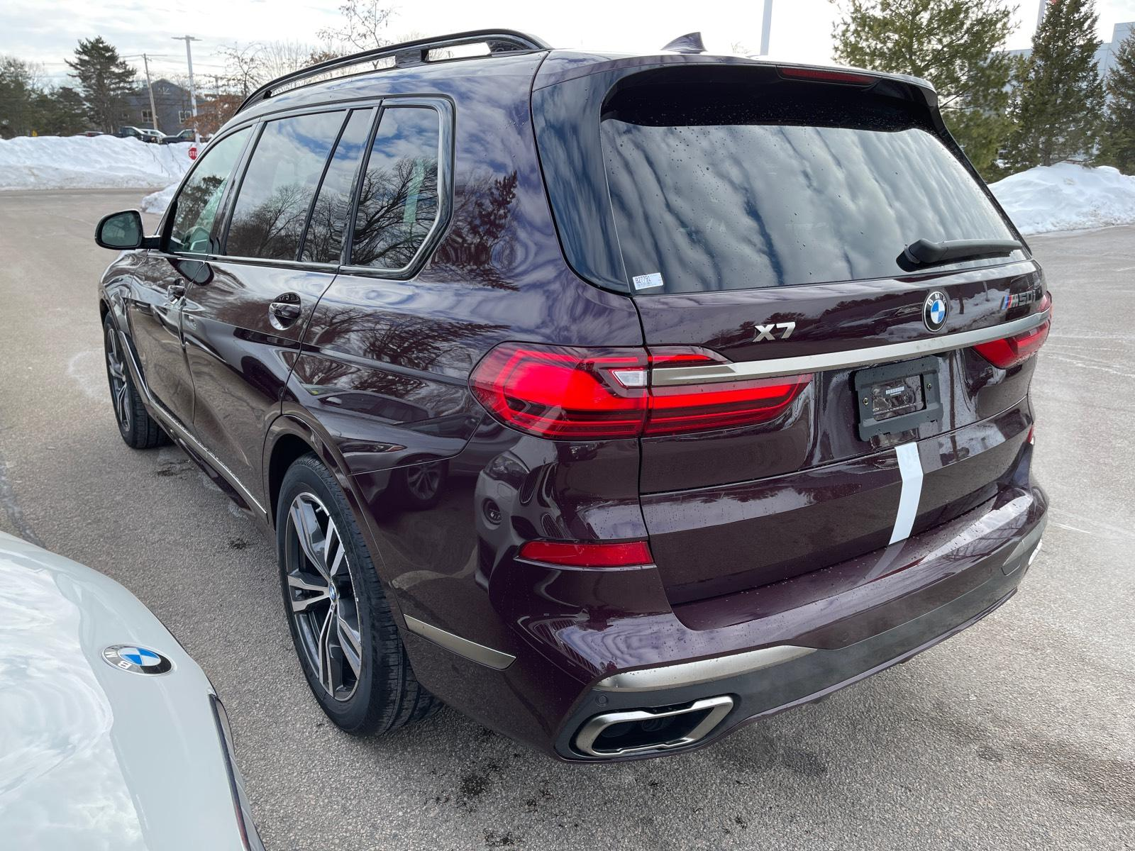 new 2021 BMW X7 car, priced at $117,495
