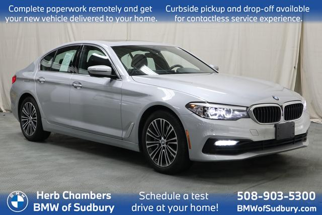 used 2018 BMW 540i car, priced at $38,698