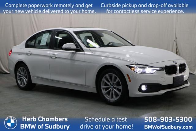 used 2018 BMW 320i car, priced at $23,698