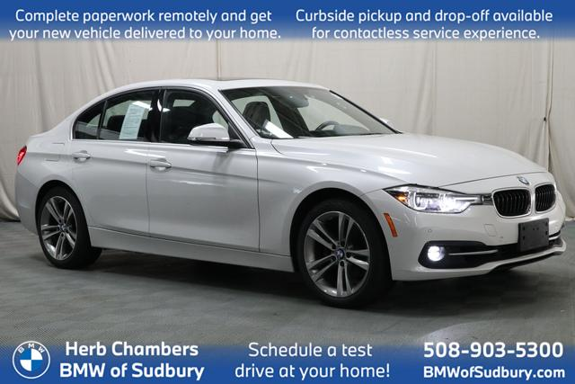 used 2017 BMW 330i car, priced at $23,598