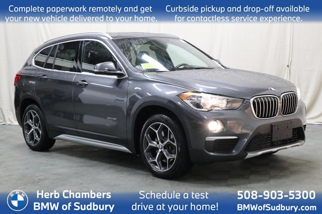 used 2018 BMW X1 car, priced at $26,398