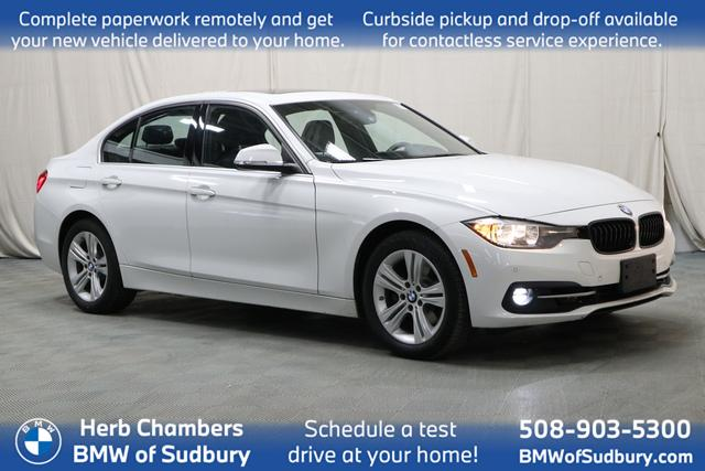 used 2017 BMW 330i car, priced at $24,798