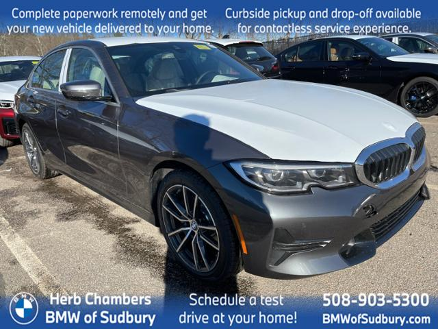 new 2021 BMW 330i car, priced at $49,190