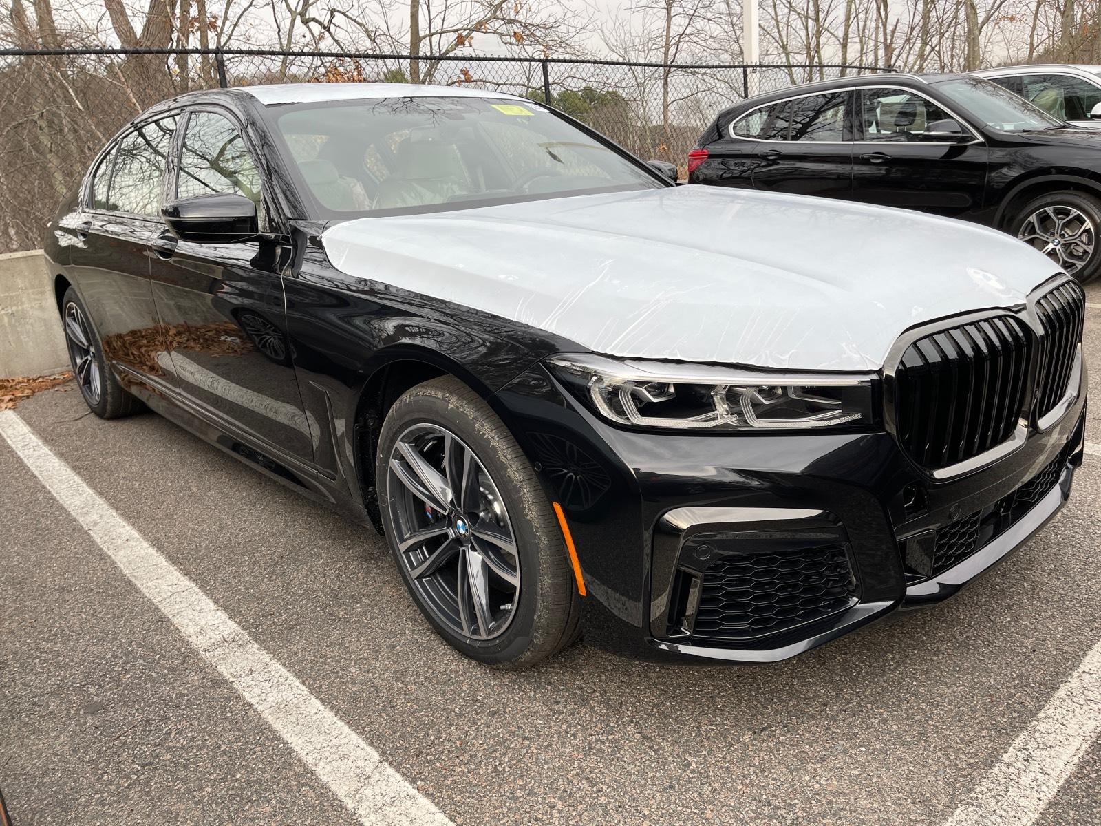 new 2021 BMW 750i car, priced at $114,300