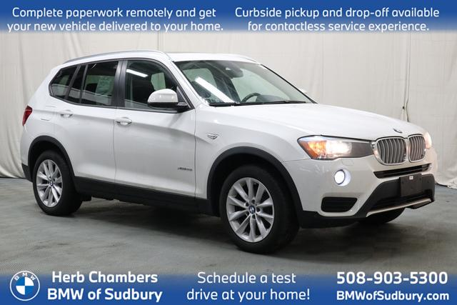 used 2016 BMW X3 car, priced at $21,798