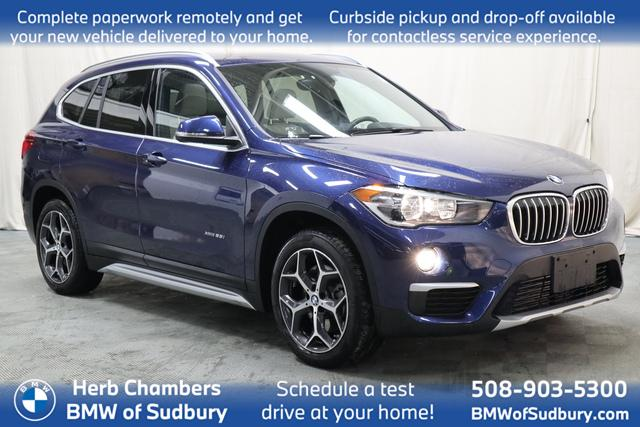 used 2018 BMW X1 car, priced at $28,898