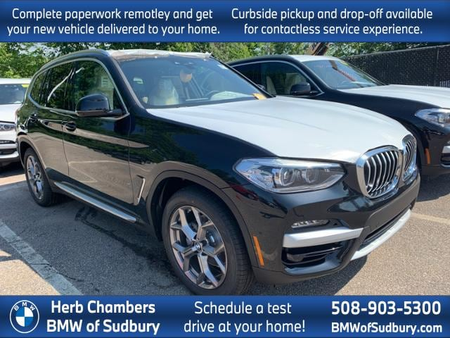 new 2020 BMW X3 car, priced at $51,235