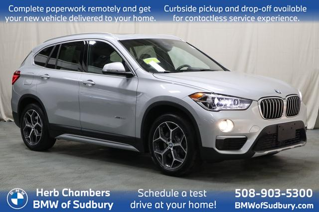 used 2018 BMW X1 car, priced at $25,698