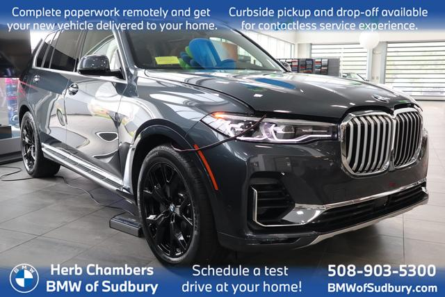 used 2021 BMW X7 car, priced at $79,898