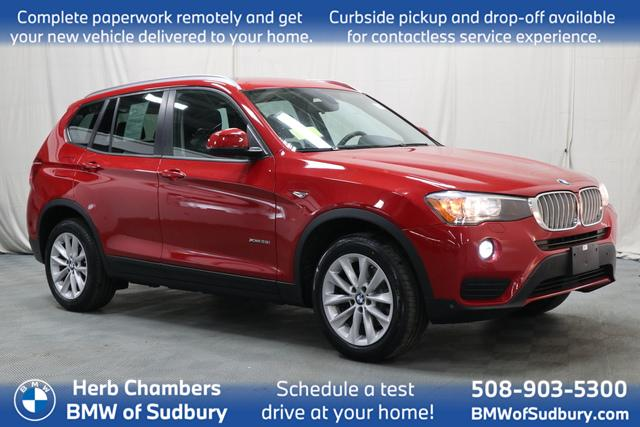 used 2017 BMW X3 car, priced at $25,498