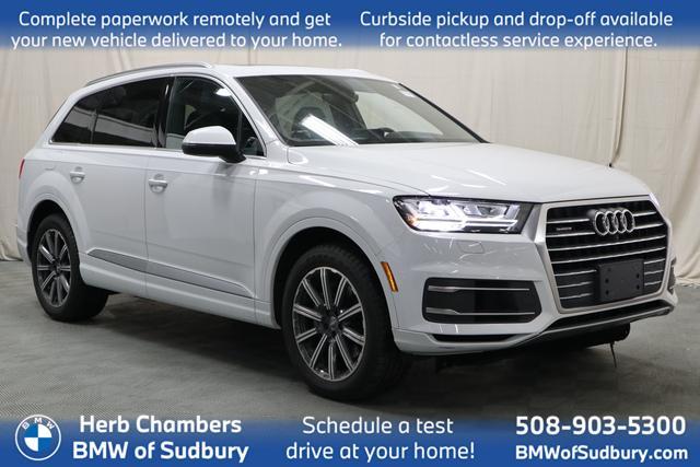 used 2017 Audi Q7 car, priced at $34,988