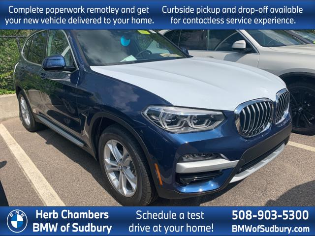 new 2020 BMW X3 car, priced at $53,245