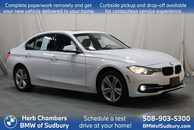 used 2017 BMW 330i car, priced at $23,998