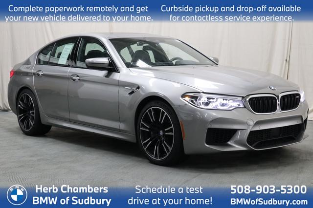used 2018 BMW M5 car, priced at $79,998