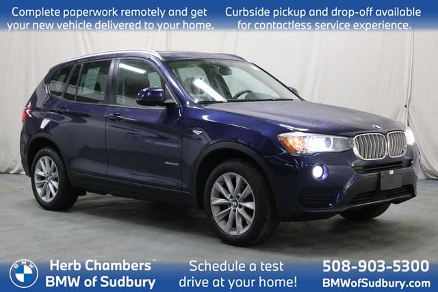 used 2015 BMW X3 car, priced at $20,398