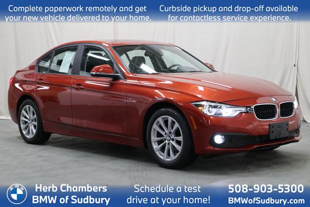 used 2018 BMW 320i car, priced at $22,488
