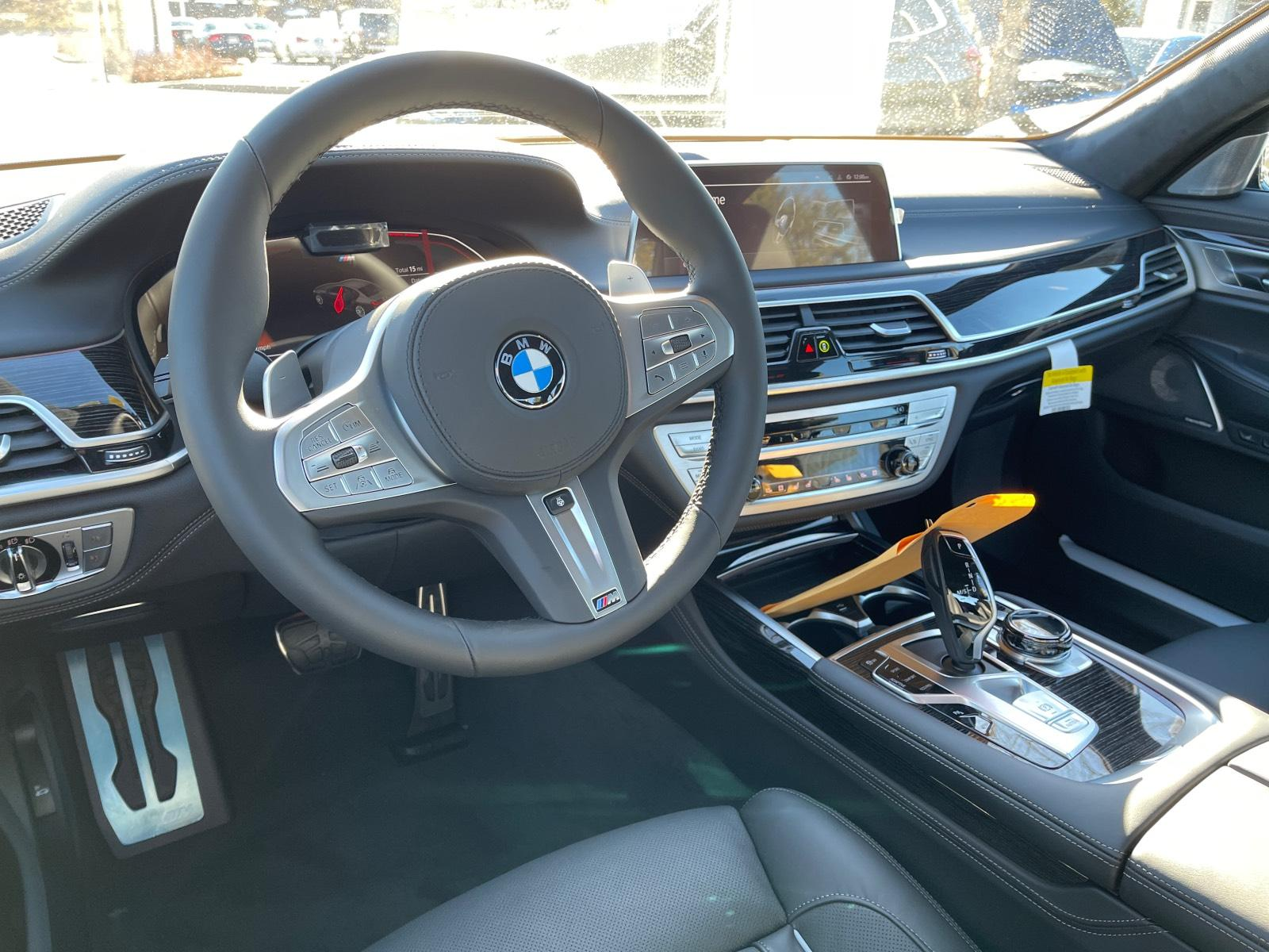 new 2021 BMW 750i car, priced at $124,750