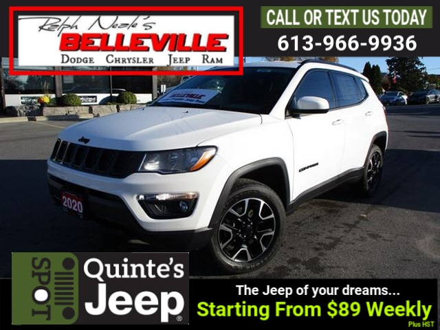 new 2020 Jeep Compass car, priced at $32,995