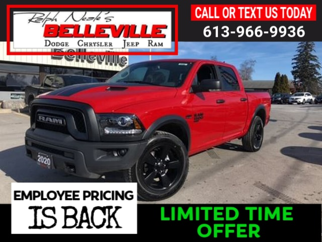 new 2020 Ram 1500 Classic car, priced at $49,157