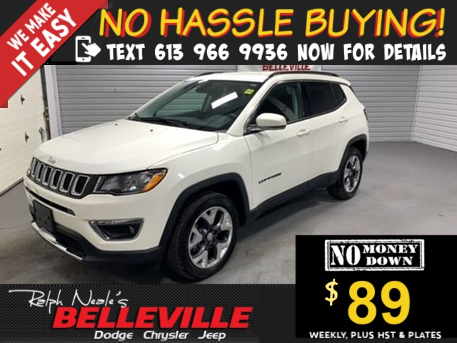 used 2019 Jeep Compass car, priced at $27,900