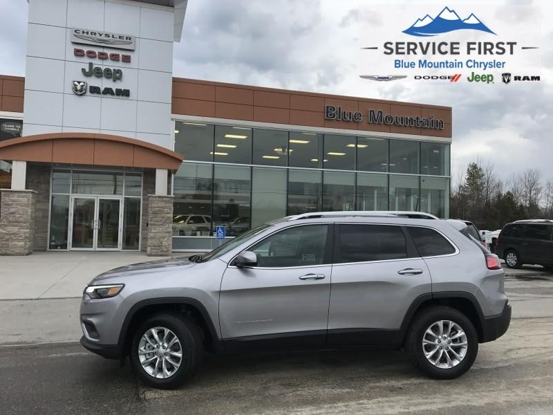 used 2019 Jeep New Cherokee car, priced at $30,999