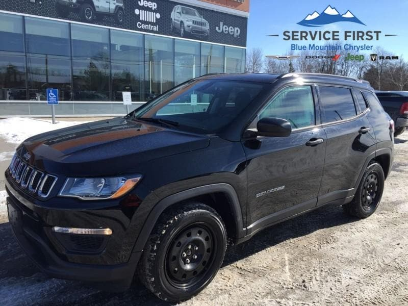 used 2018 Jeep Compass car, priced at $24,997