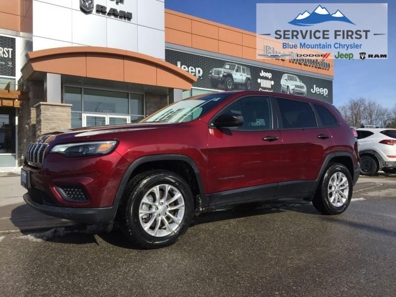used 2019 Jeep New Cherokee car, priced at $29,947