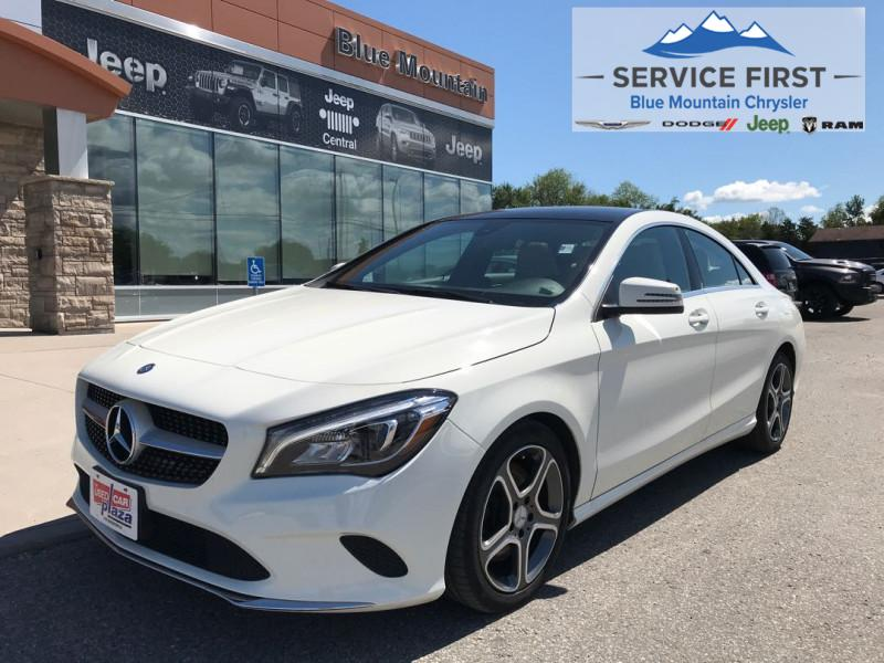 used 2018 Mercedes-Benz CLA 250 car, priced at $27,997