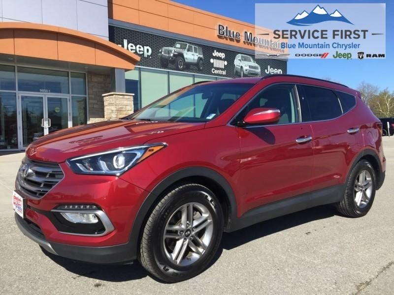 used 2018 Hyundai Santa Fe Sport car, priced at $20,997