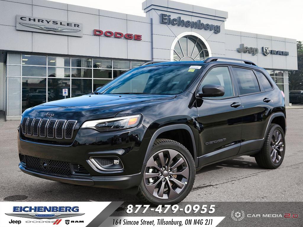 new 2021 Jeep Cherokee car, priced at $44,999