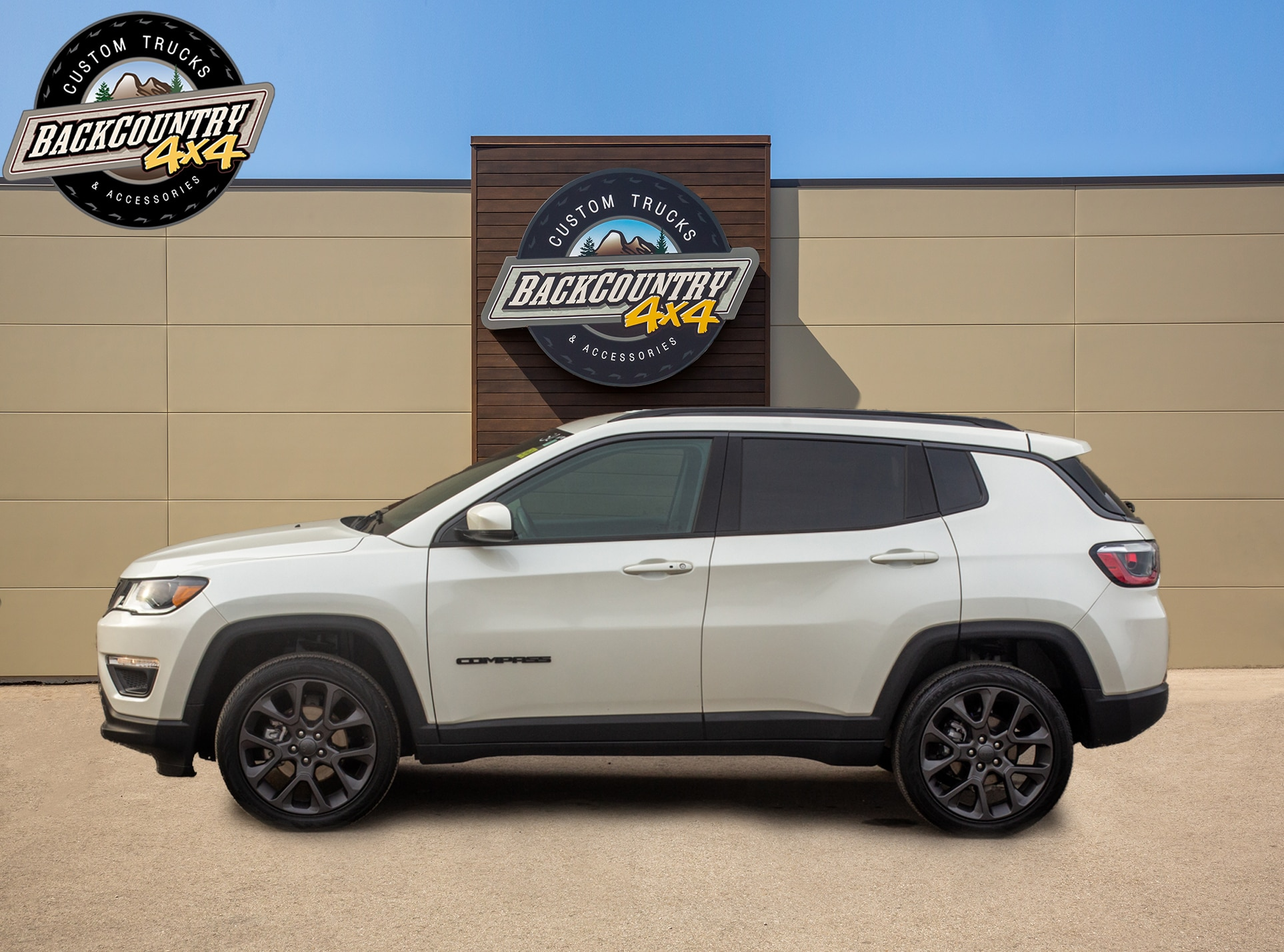 used 2020 Jeep Compass car, priced at $27,799