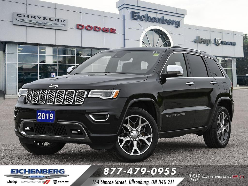 used 2019 Jeep Grand Cherokee car, priced at $44,500