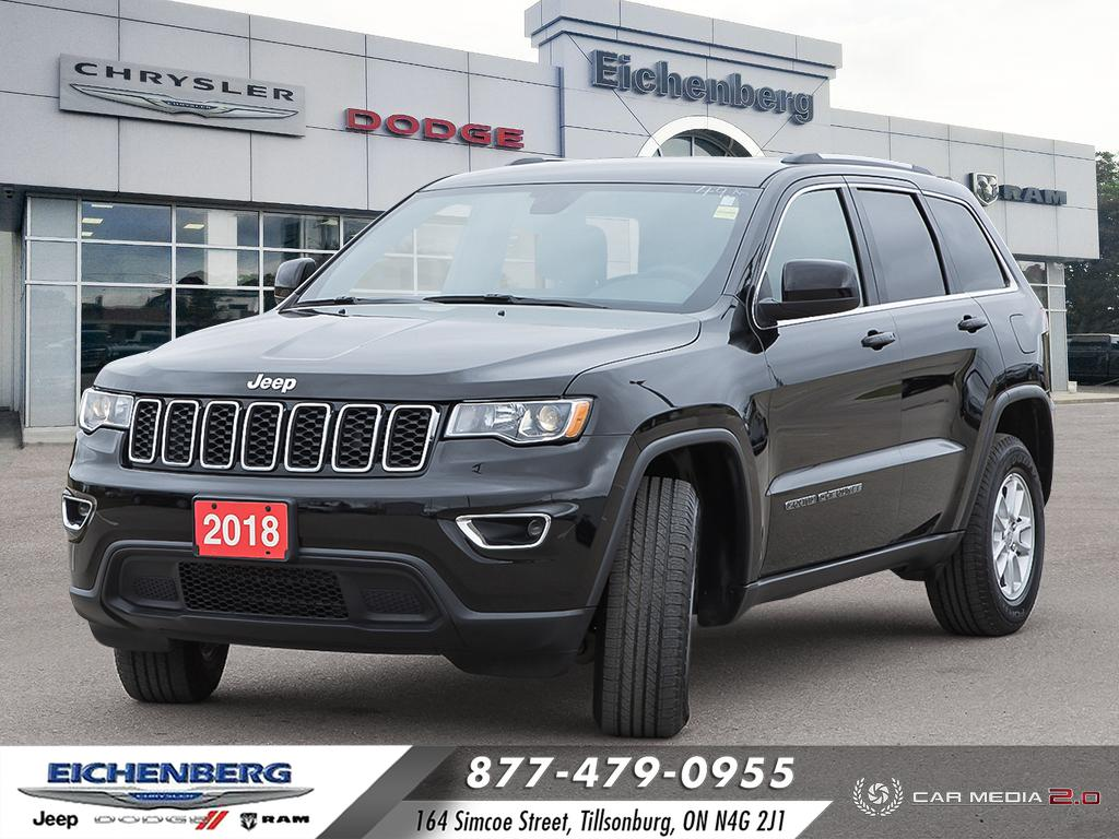 used 2018 Jeep Grand Cherokee car, priced at $30,599