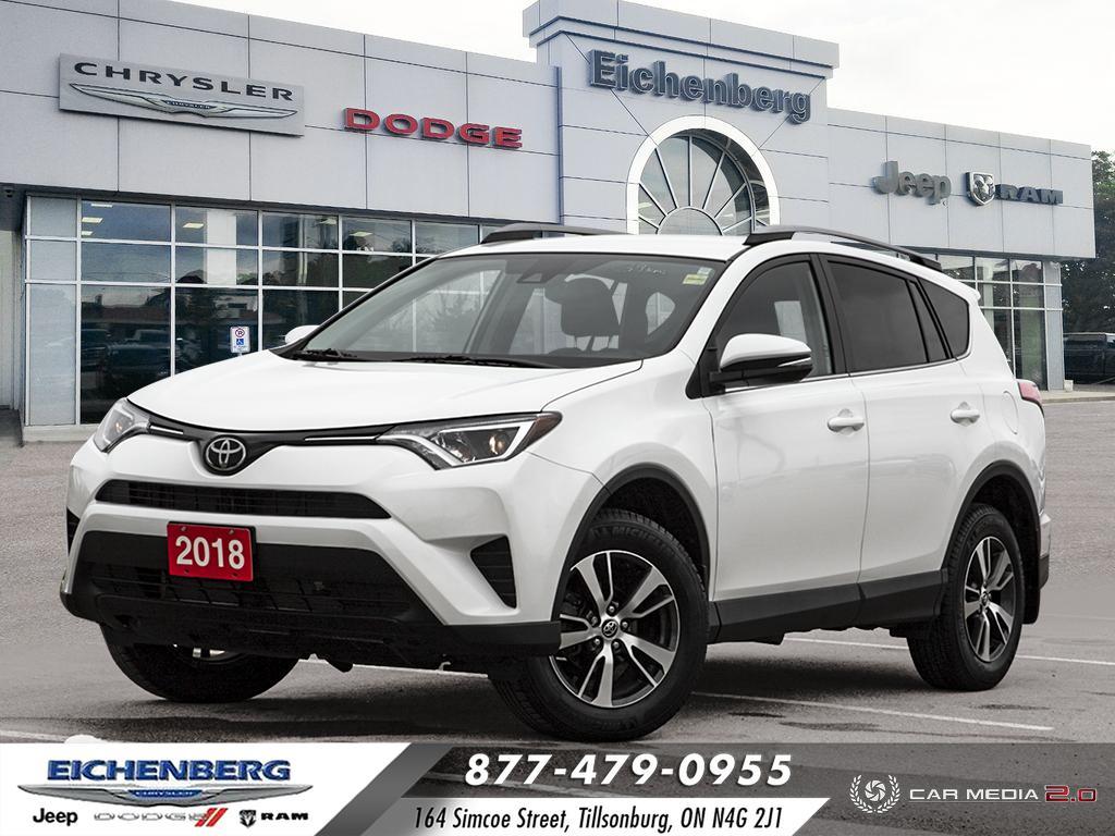 used 2018 Toyota RAV4 car, priced at $25,500