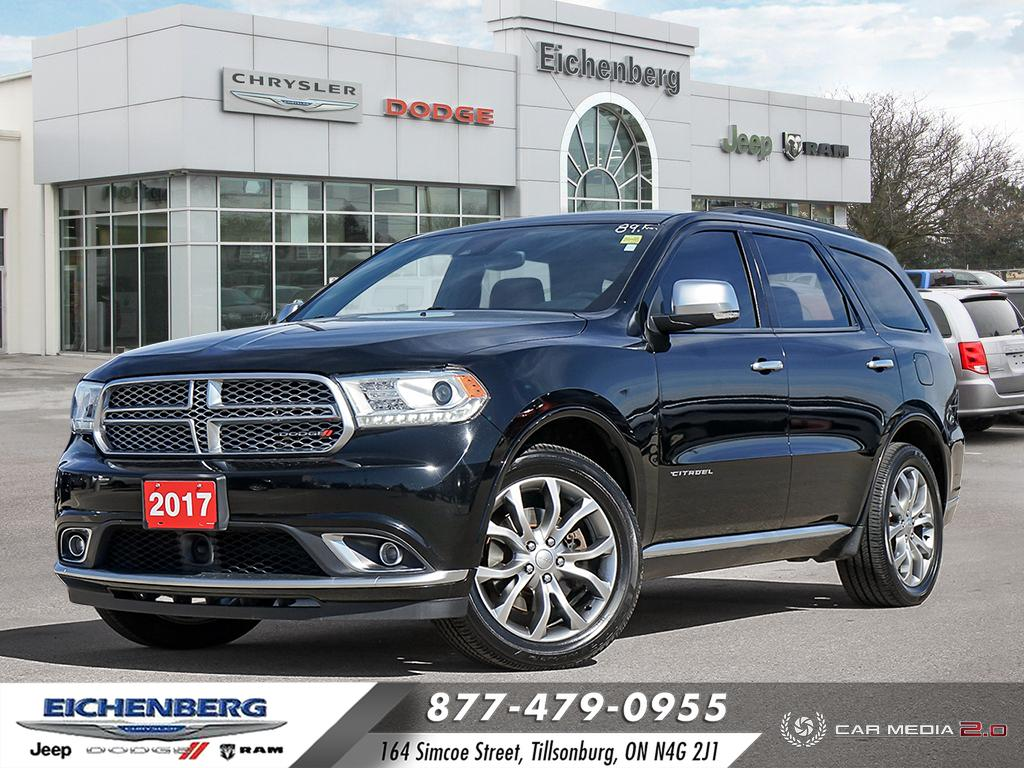 used 2017 Dodge Durango car, priced at $37,999