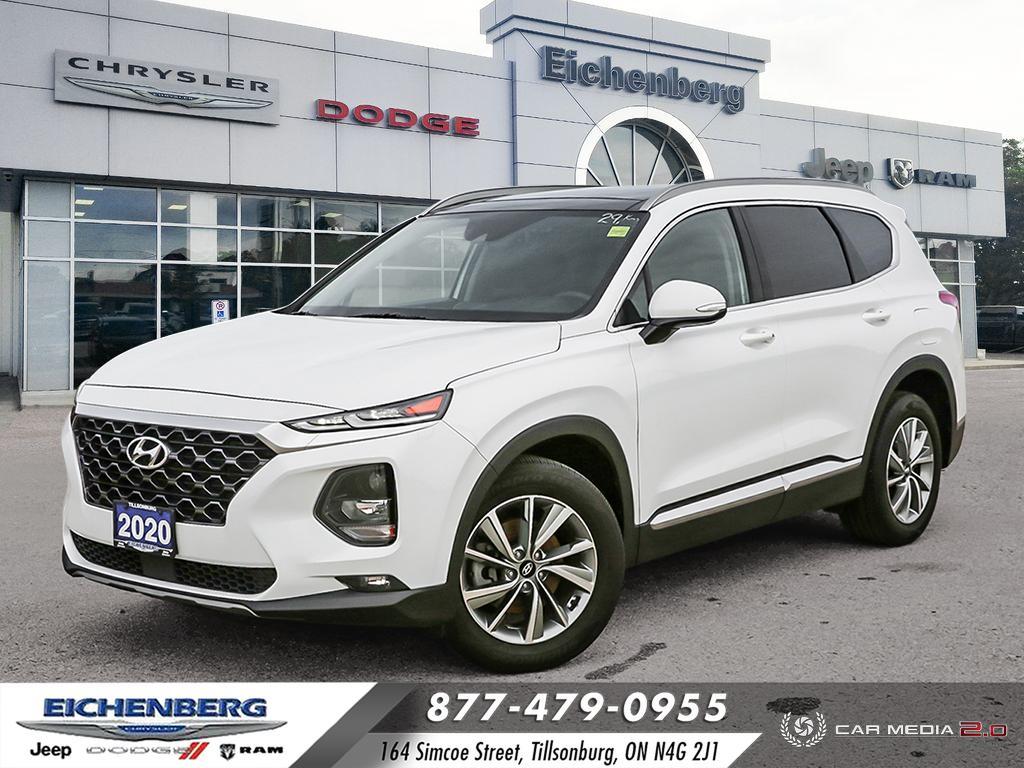 used 2020 Hyundai Santa Fe car, priced at $33,500