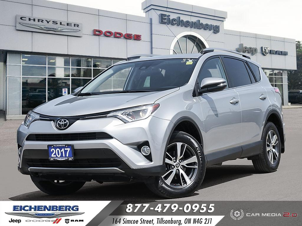 used 2017 Toyota RAV4 car, priced at $24,499