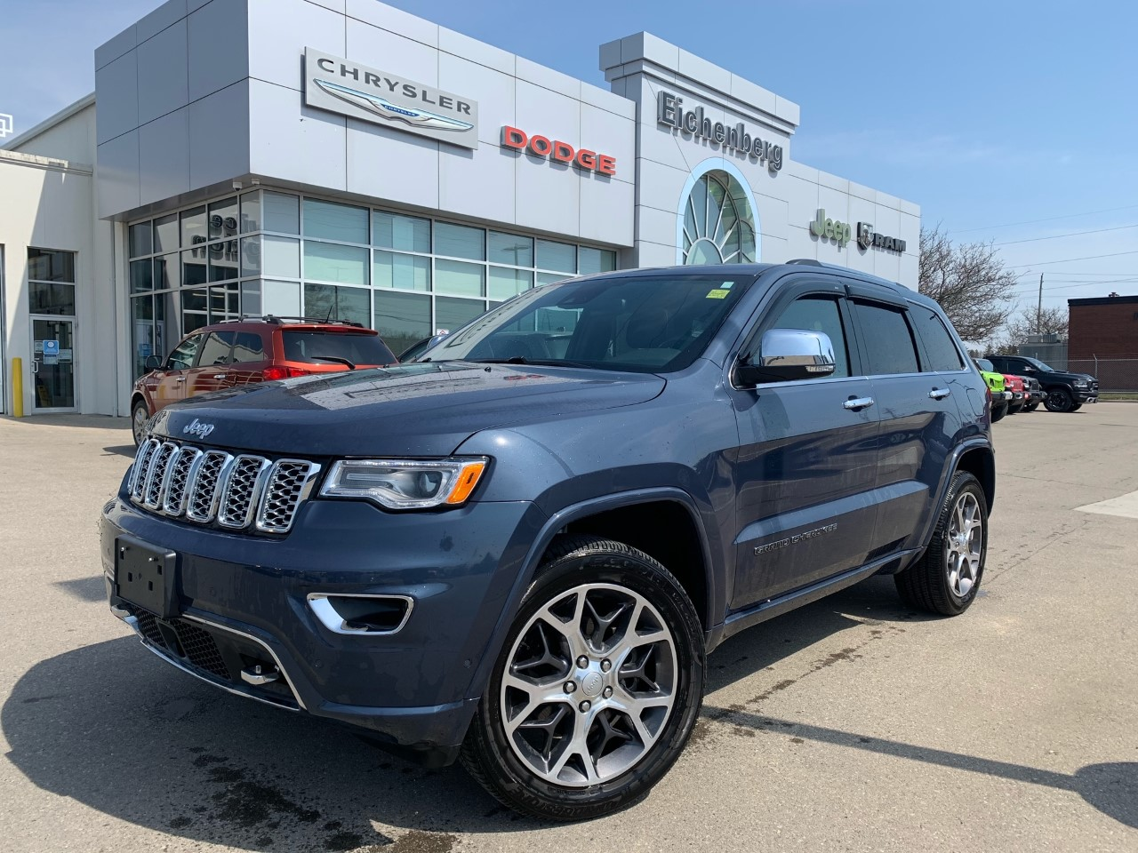 used 2020 Jeep Grand Cherokee car, priced at $51,995