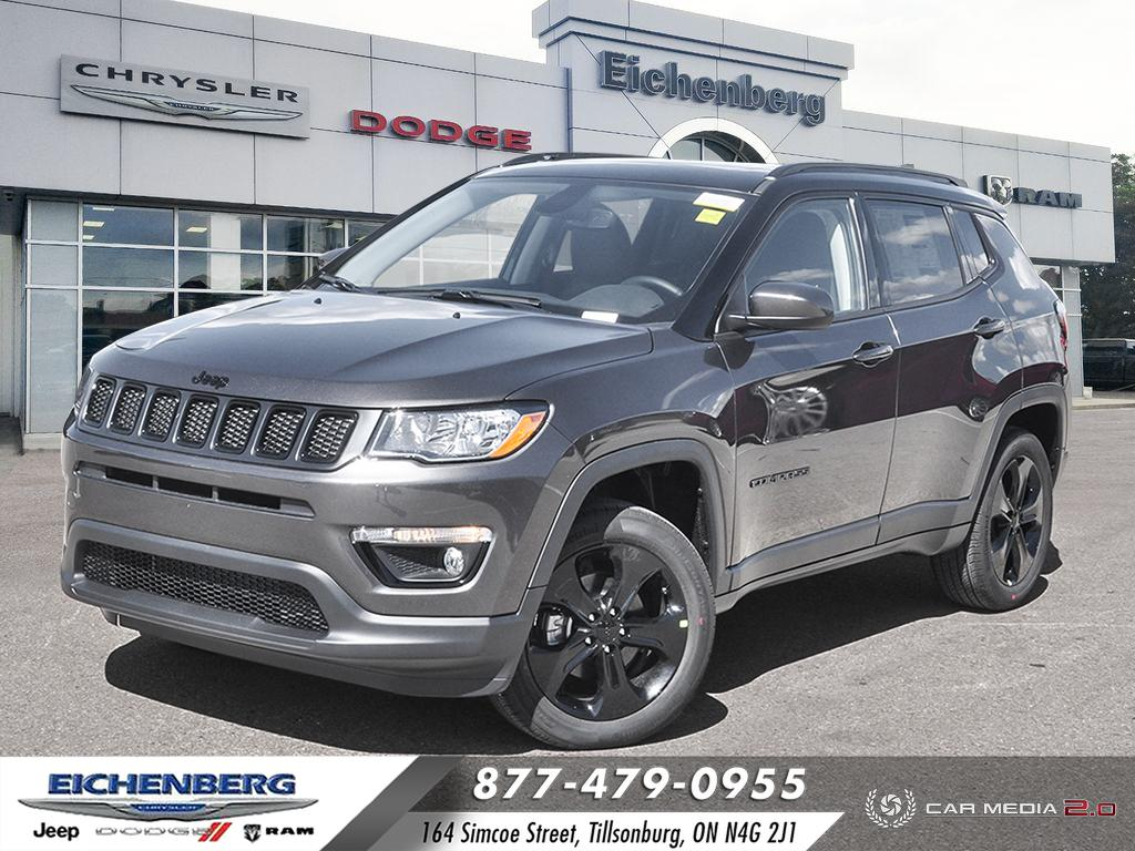 new 2021 Jeep Compass car, priced at $38,499