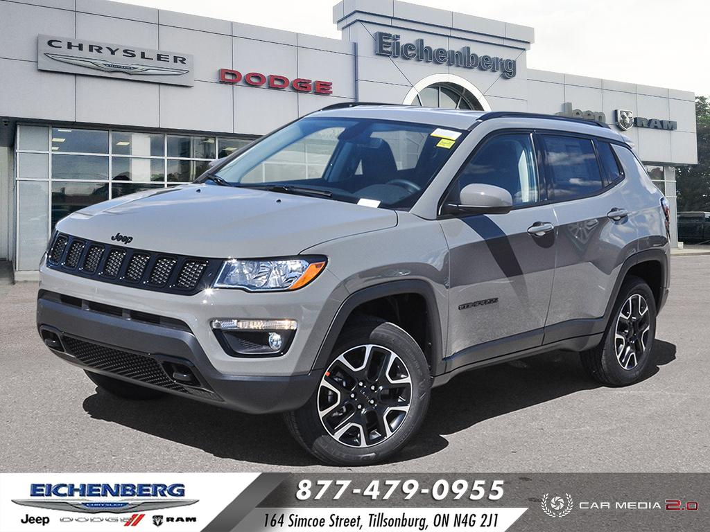new 2021 Jeep Compass car, priced at $32,499