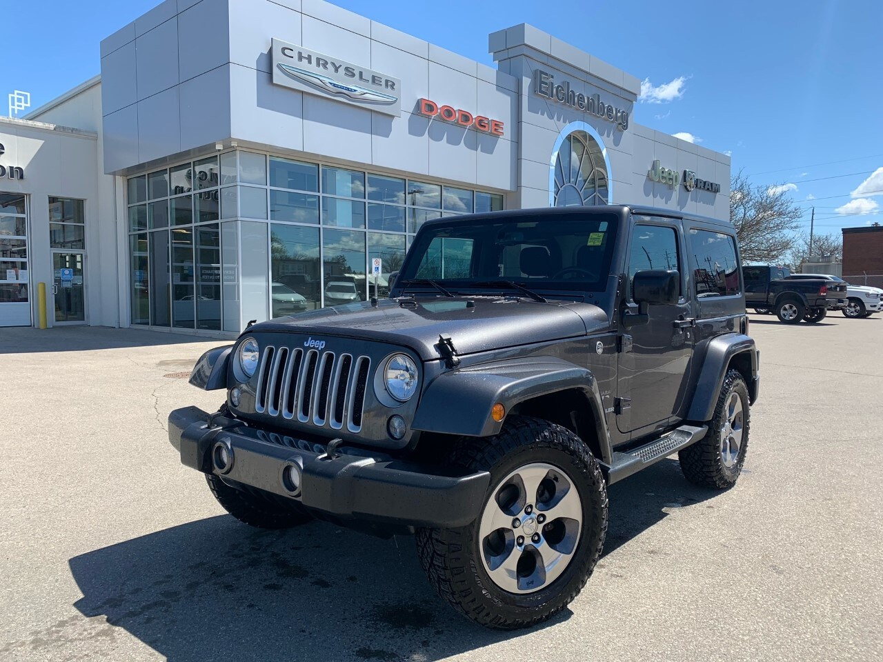 used 2016 Jeep Wrangler car, priced at $29,999