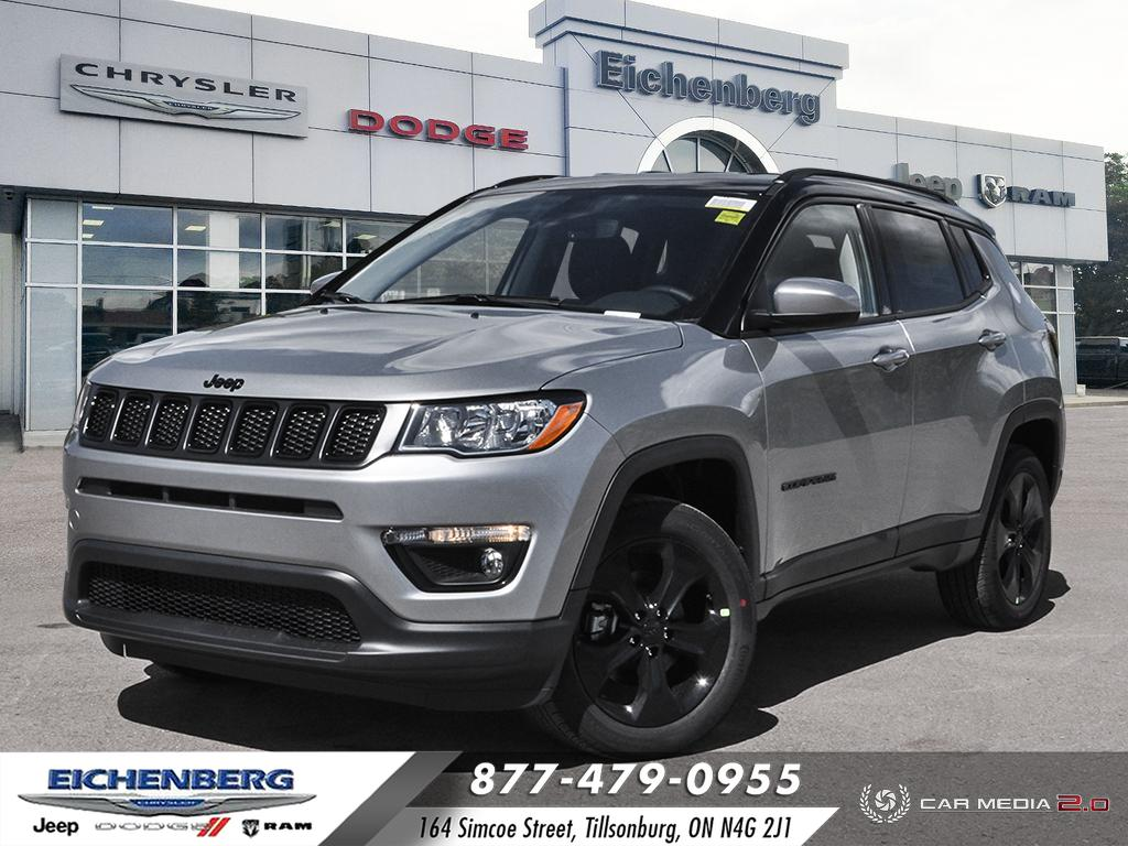 new 2021 Jeep Compass car, priced at $36,750
