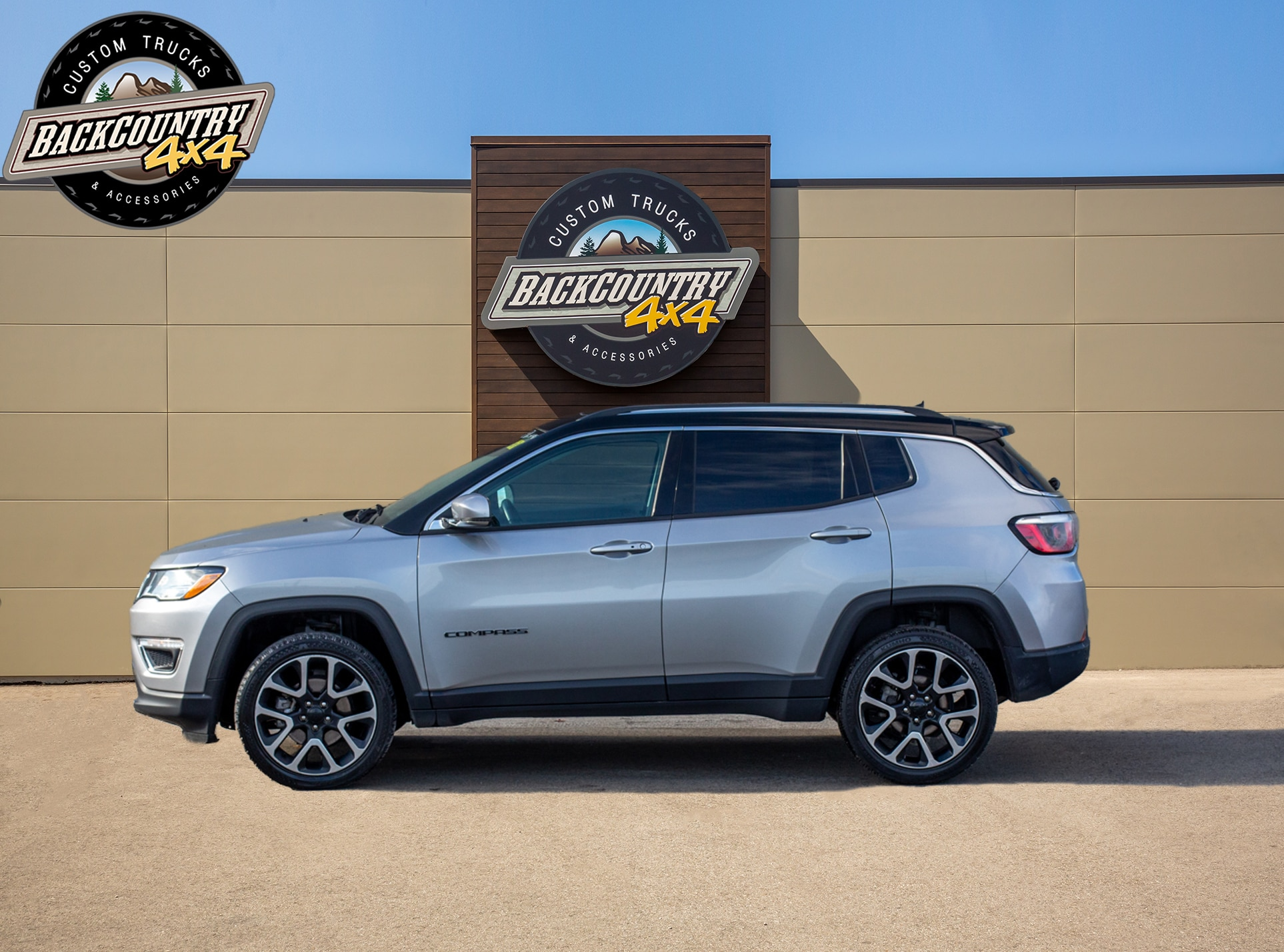 used 2018 Jeep Compass car, priced at $23,799