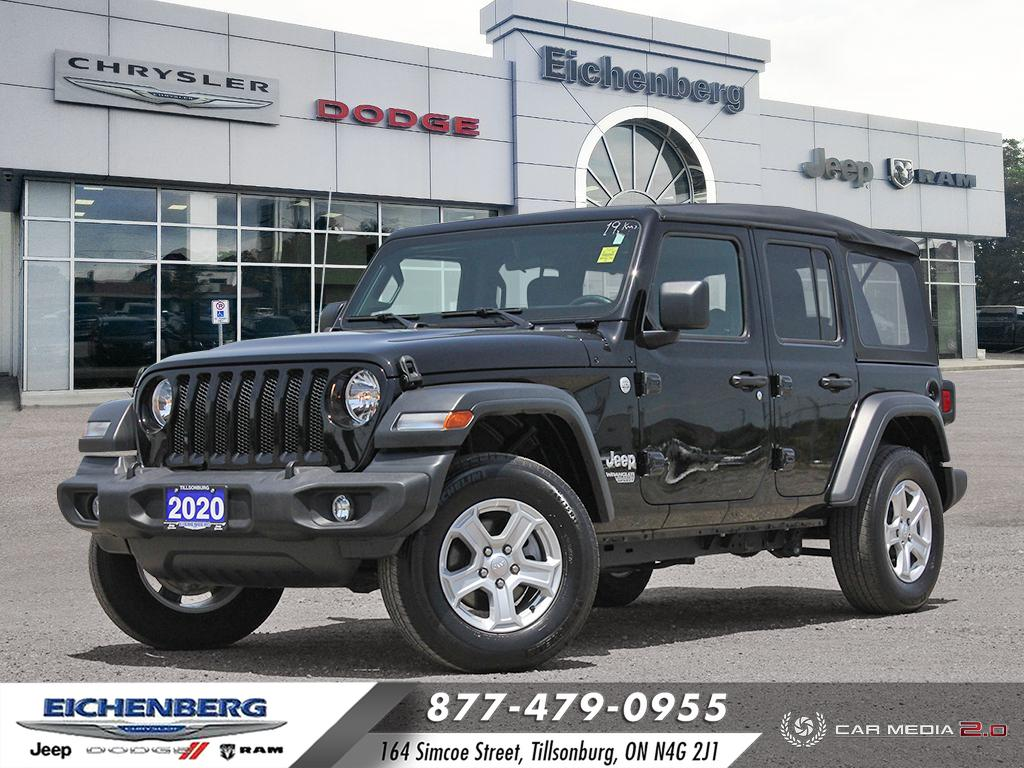 used 2020 Jeep Wrangler car, priced at $46,799