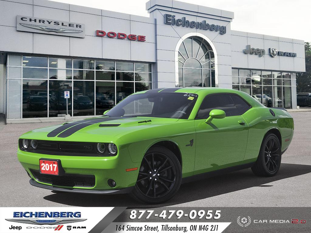 used 2017 Dodge Challenger car, priced at $43,999