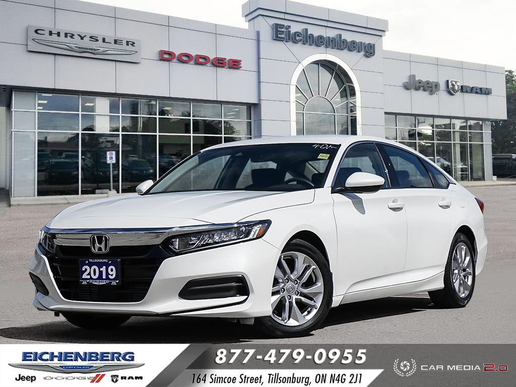 used 2019 Honda Accord car, priced at $22,999