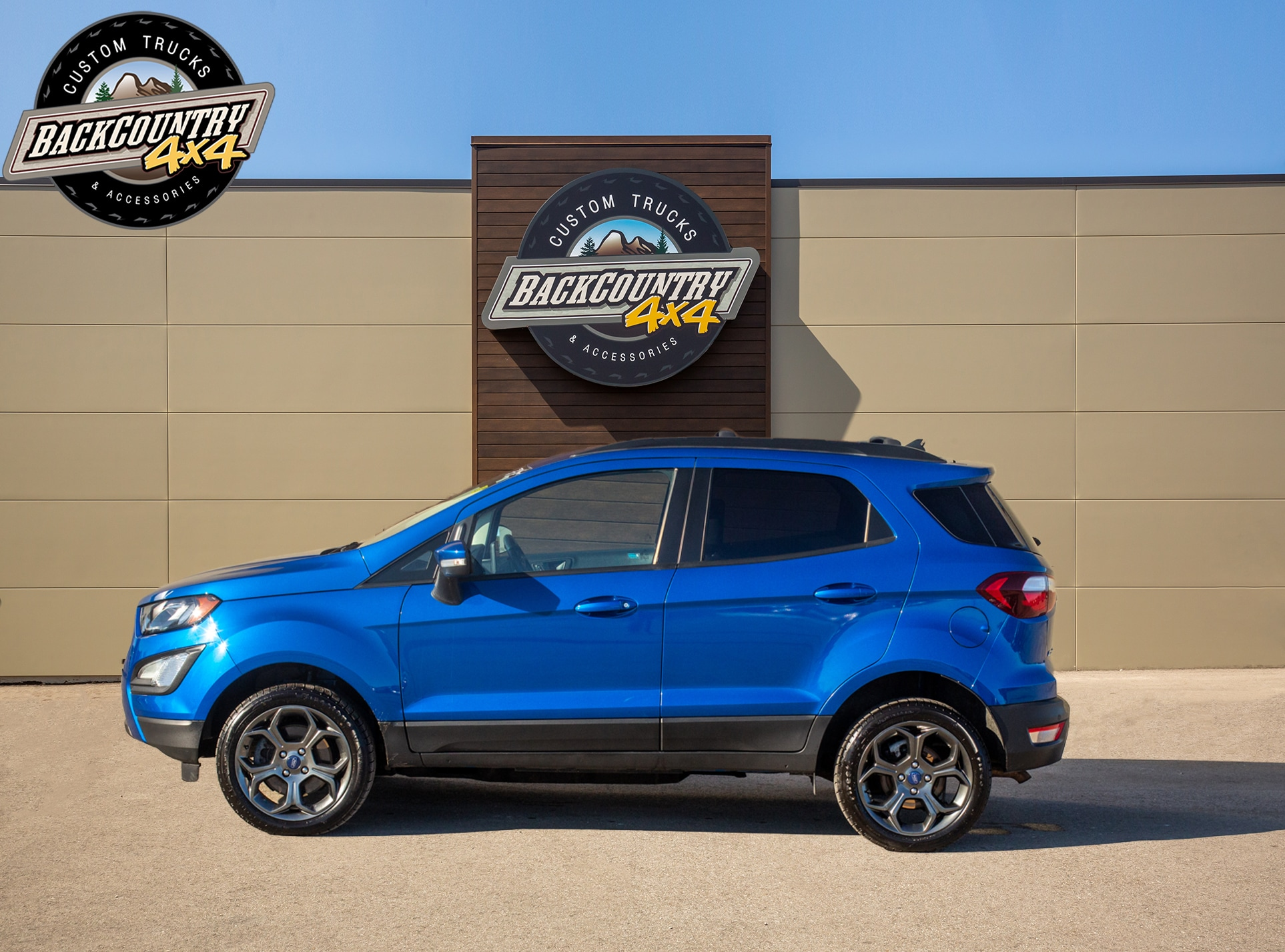 used 2018 Ford EcoSport car, priced at $16,999
