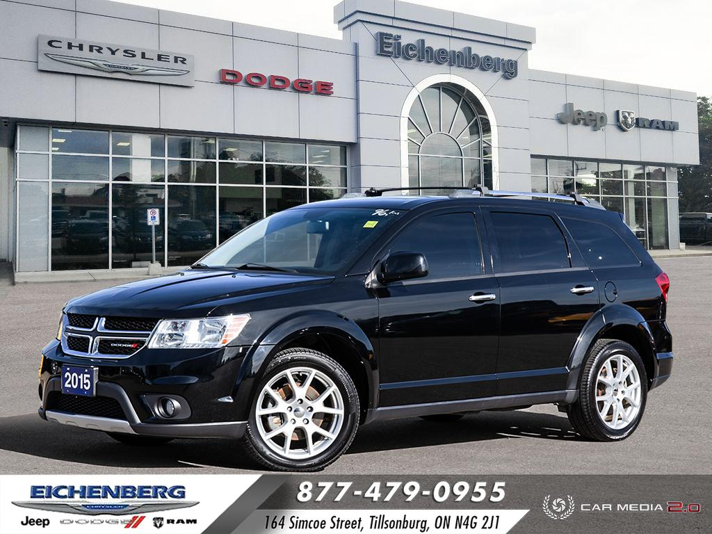 used 2015 Dodge Journey car, priced at $16,899