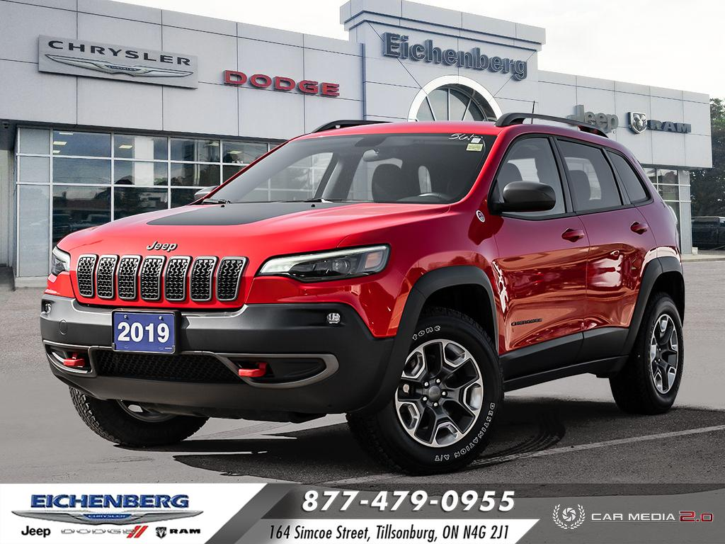 used 2019 Jeep New Cherokee car, priced at $27,499