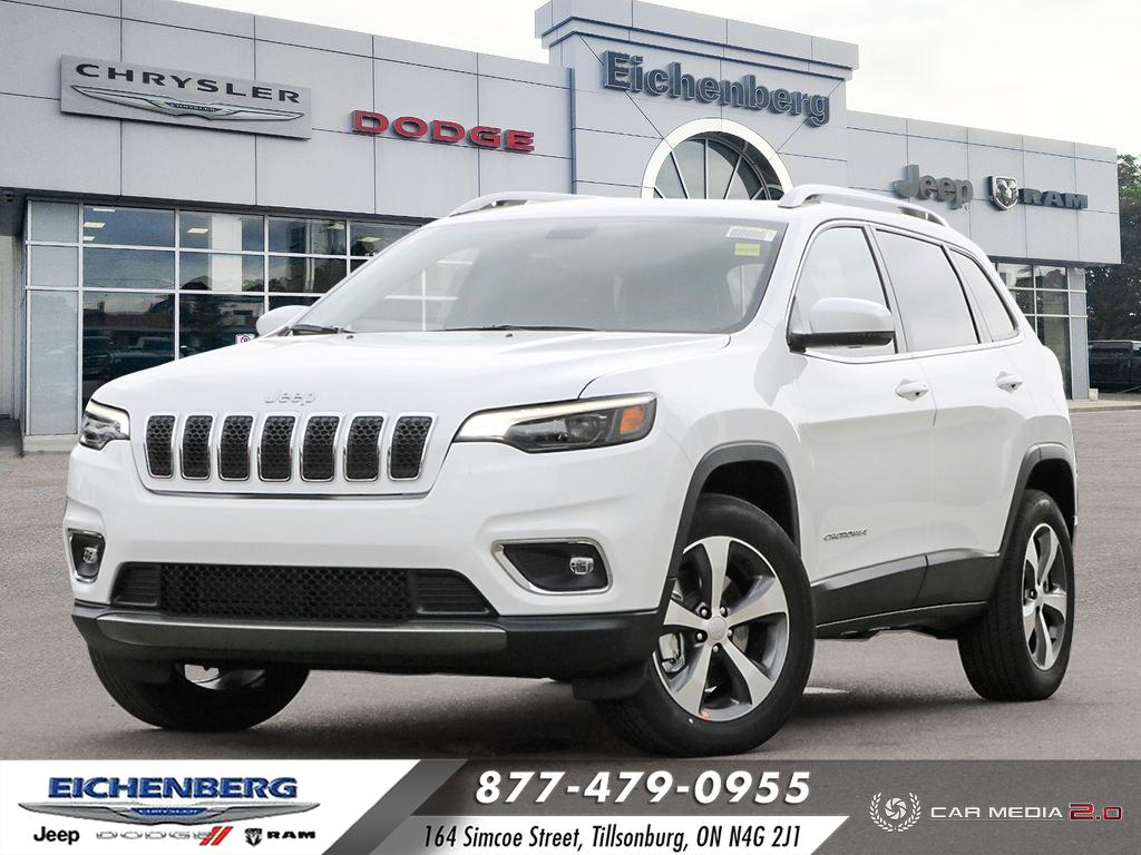 new 2020 Jeep Cherokee car, priced at $41,599